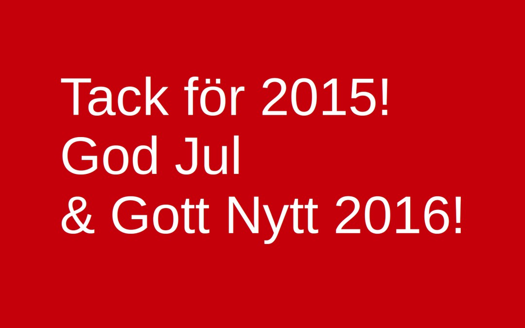 Ljudlig God Jul!